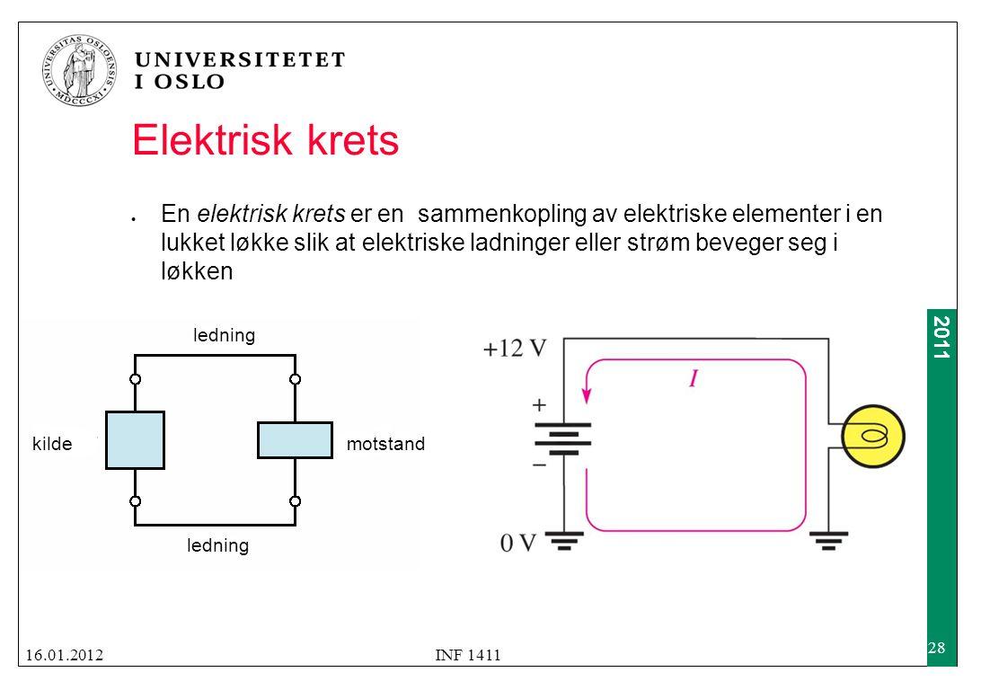 Hva er en elektrisk krets