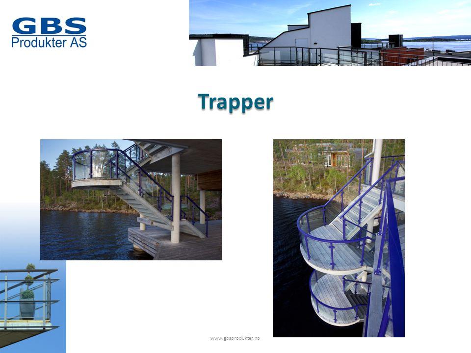 www.gbsprodukter.no Trapper