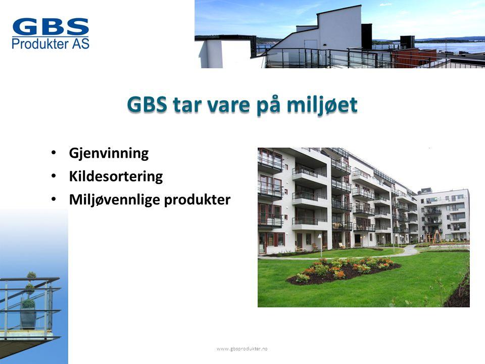 GBS tilbyr • Arkitekttjenester • Konsulenttjenester • Statisk testanalyse av produktene • Statikk på hele prosjektet www.gbsprodukter.no