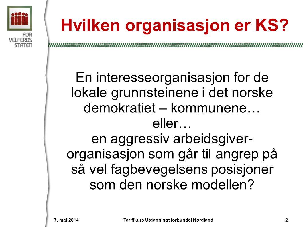 Hvilken organisasjon er KS.