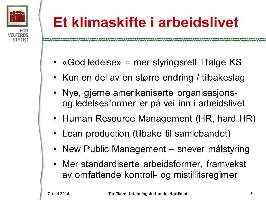 «God ledelse» = styringsrett «KS' synspunkter bygger på en hovedforutsetning, nemlig at bedre ledelse gir bedre skole.