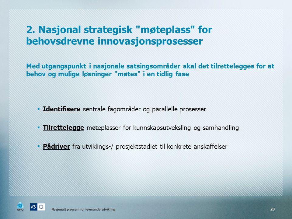 2. Nasjonal strategisk
