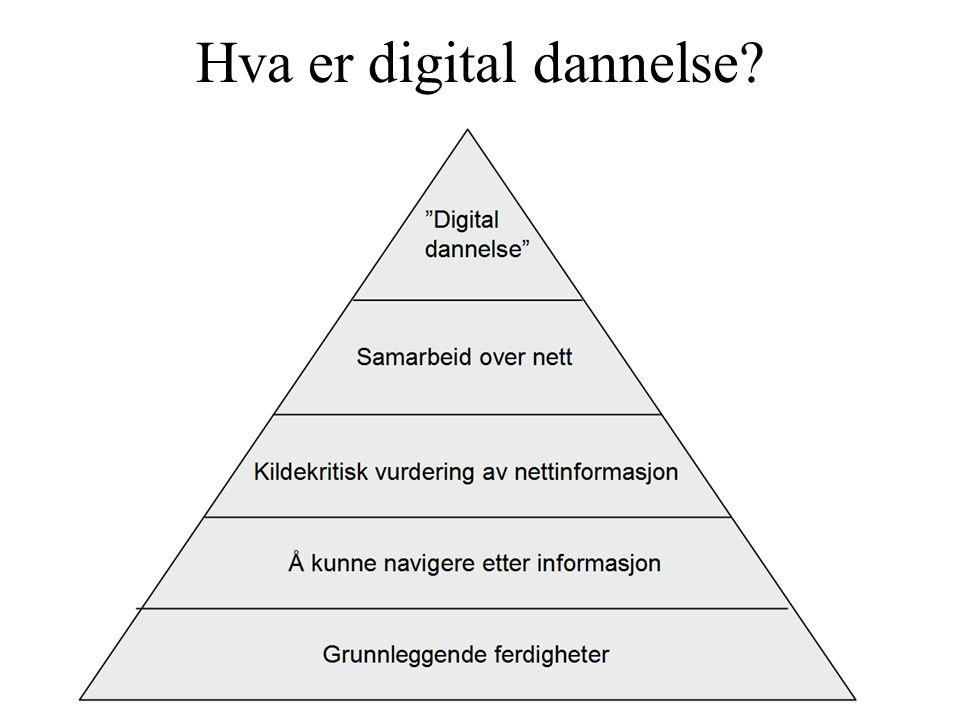 Hva er digital dannelse