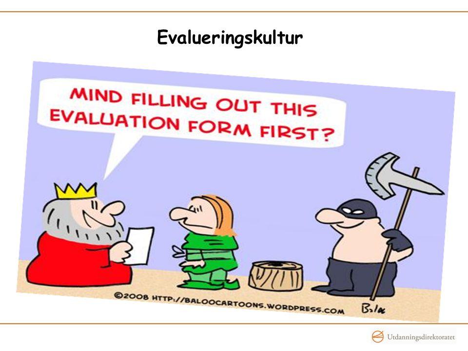 Evalueringskultur