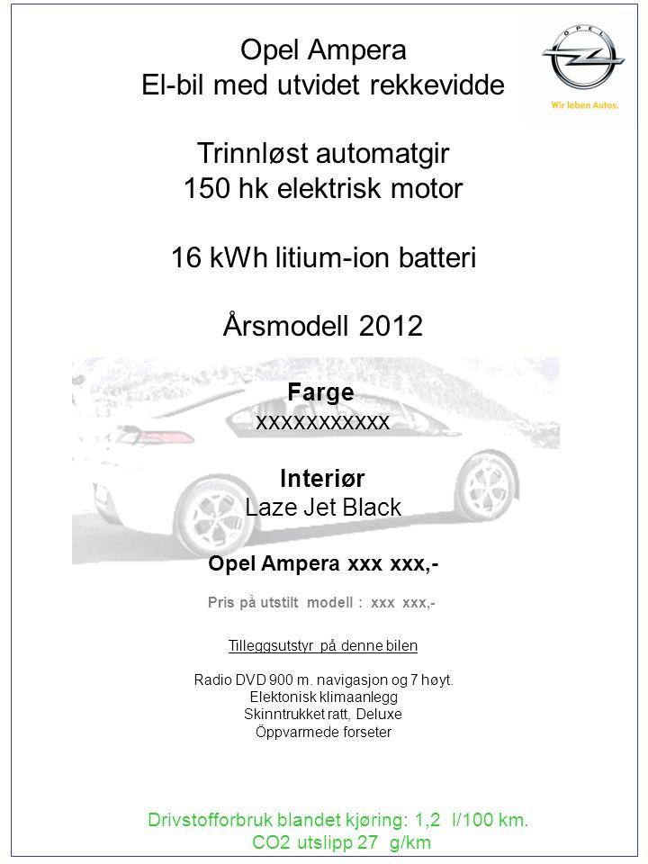 Drivstofforbruk blandet kjøring: 5,3 l/100 km.