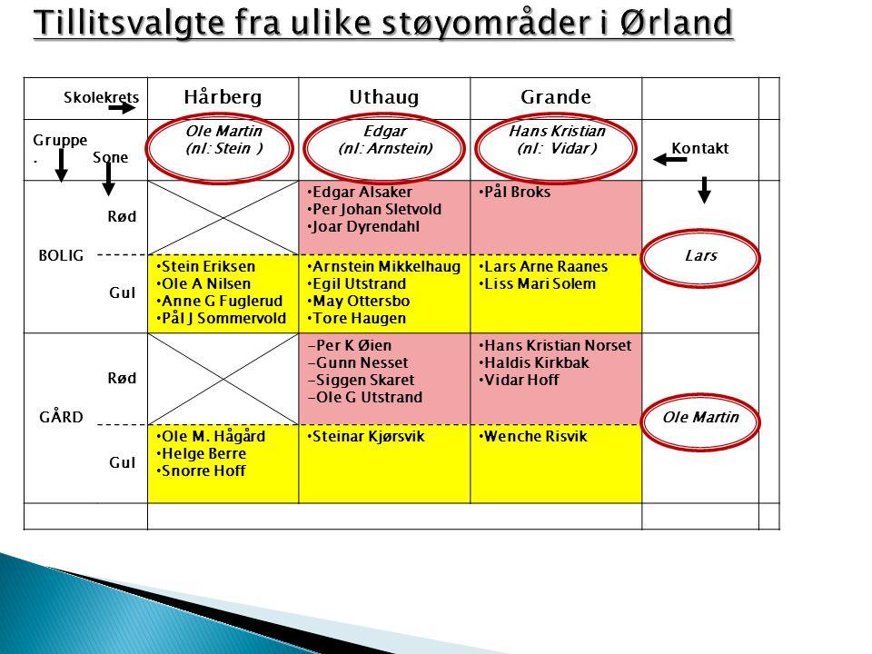 Støygruppa Ørland har som mandat å ivareta interessene til de som ønsker dette i forhold til de utfordringer innbyggerne får med den nye kampflybasen ift jagerfly.