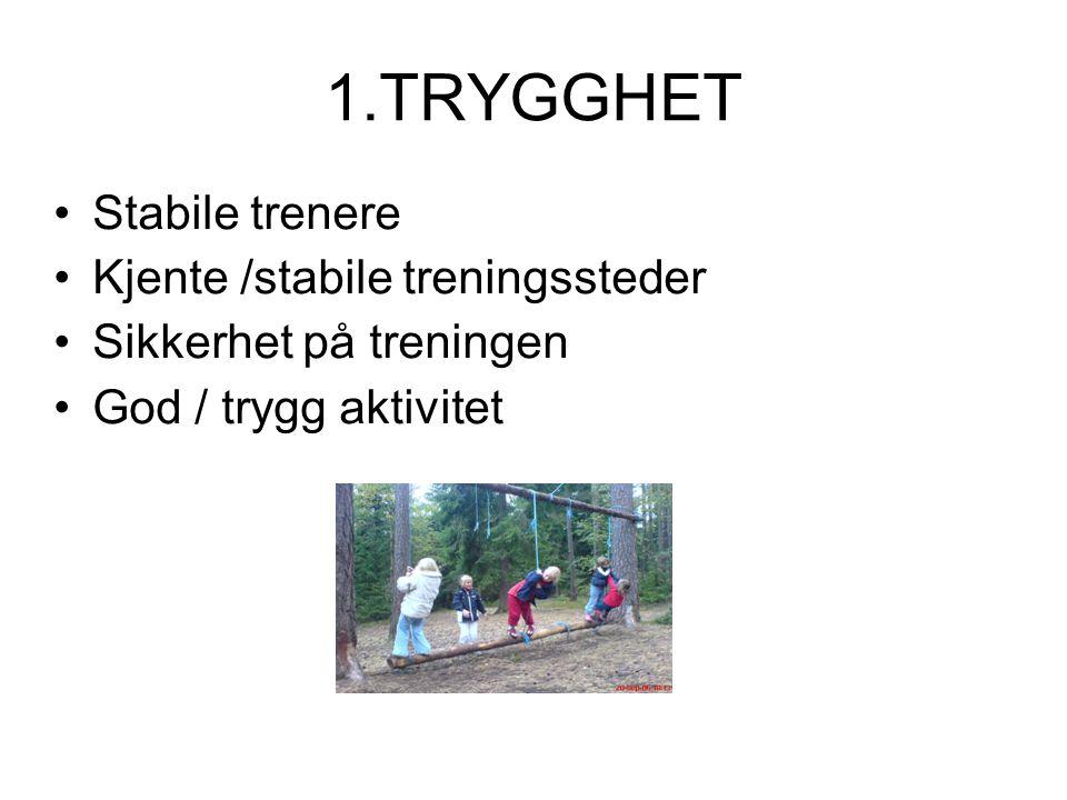 Idrettens barnerettigheter 7.