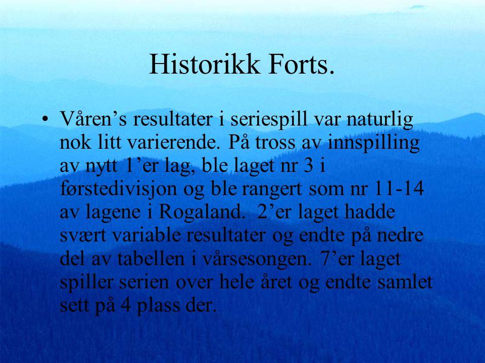Historikk forts •I april 2009 blir Jarl og Vaulen enige om at 1994 kullet settes sammen til et samarbeidsprosjekt hvor begge navn er representert. •Be
