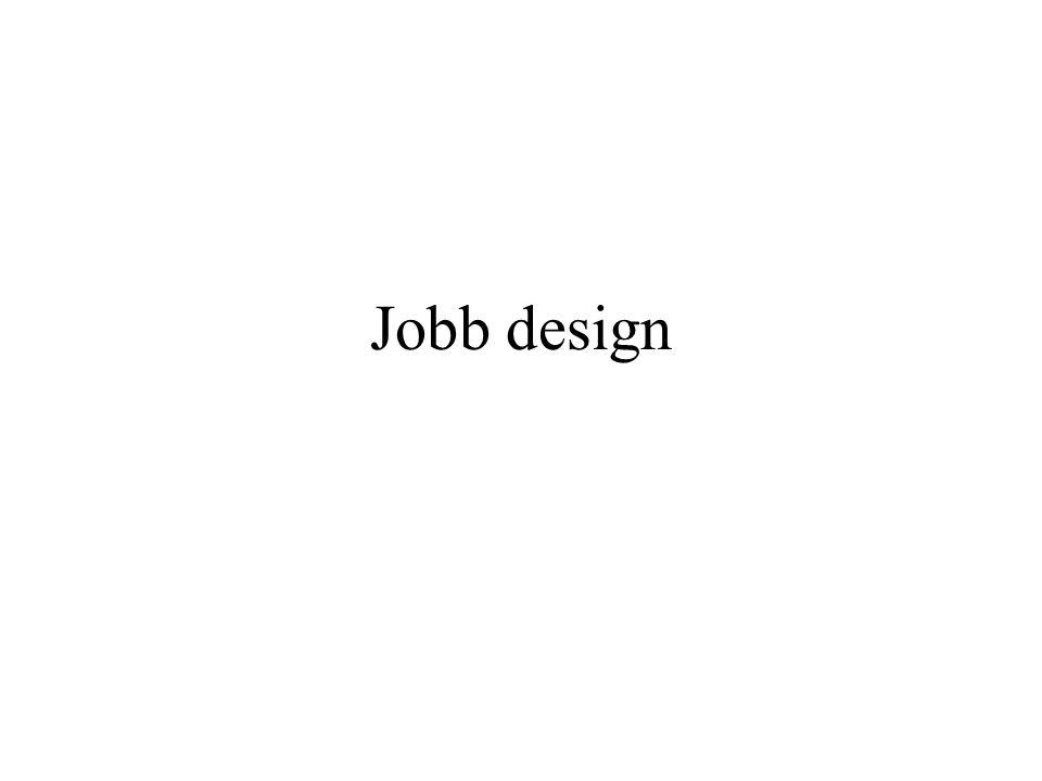 Jobb design