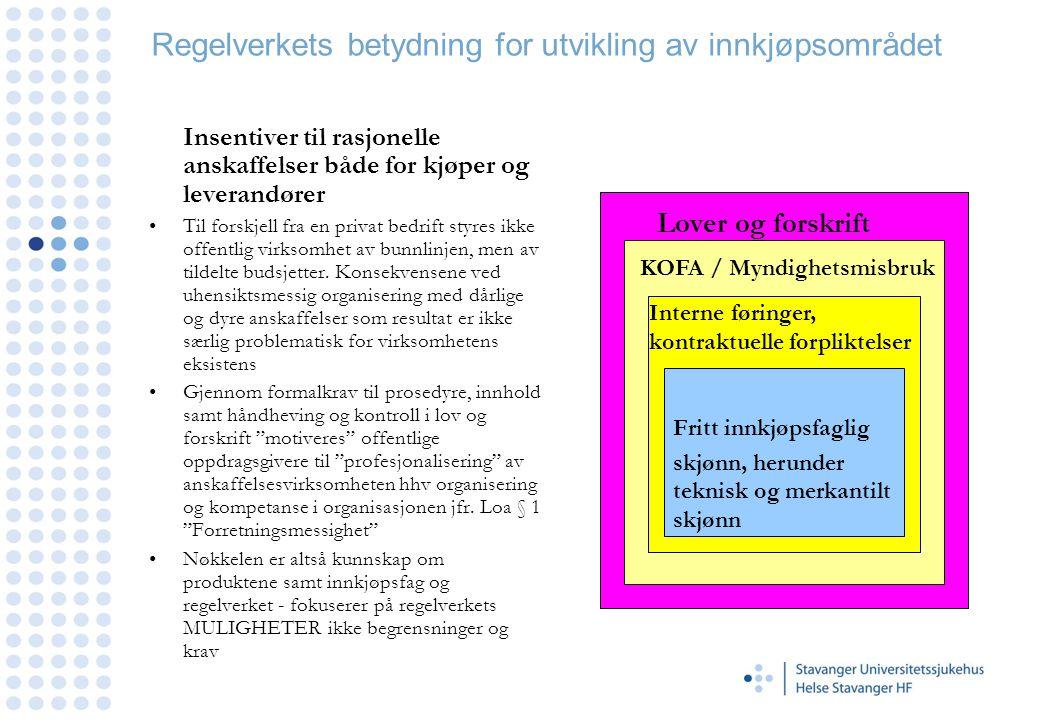 Helse Stavanger HF - Utarbeidelse av effektive konkurransegrunnlag Del 1 Administrative vilkår - Tildelingskriterier •Tildelingskriteriene gjelder egenskaper ved selve tilbudet som er innlevert som besvarelse på konkurranse fra de kvalifiserte leverandørene (fase 2) og med nødvendig dokumentasjon.