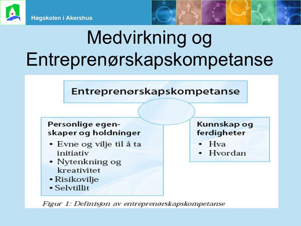 Grete Haaland Sund, HiAk, 240306 Medvirkning og Entreprenørskapskompetanse