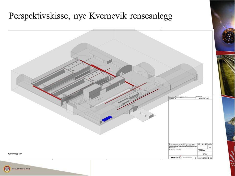 Perspektivskisse, nye Kvernevik renseanlegg