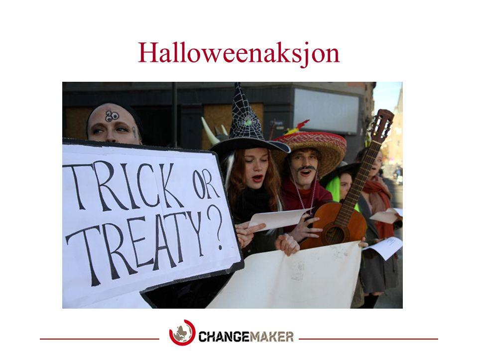 Halloweenaksjon