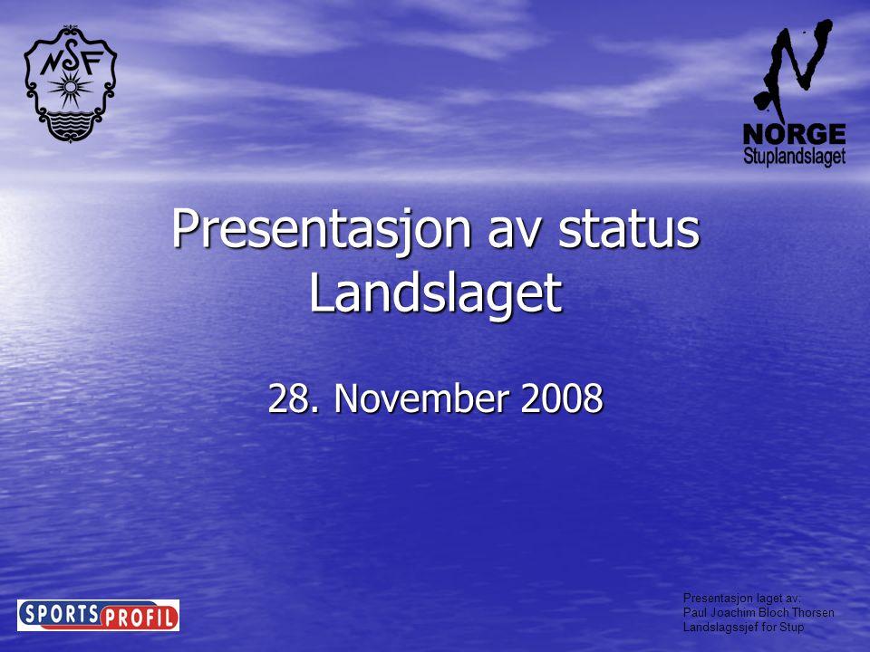Presentasjon laget av: Paul Joachim Bloch Thorsen Landslagssjef for Stup Dommerutvikling • Det er arrangert 1 dommerkurs i øst, 1 i sør og 1 i vest.