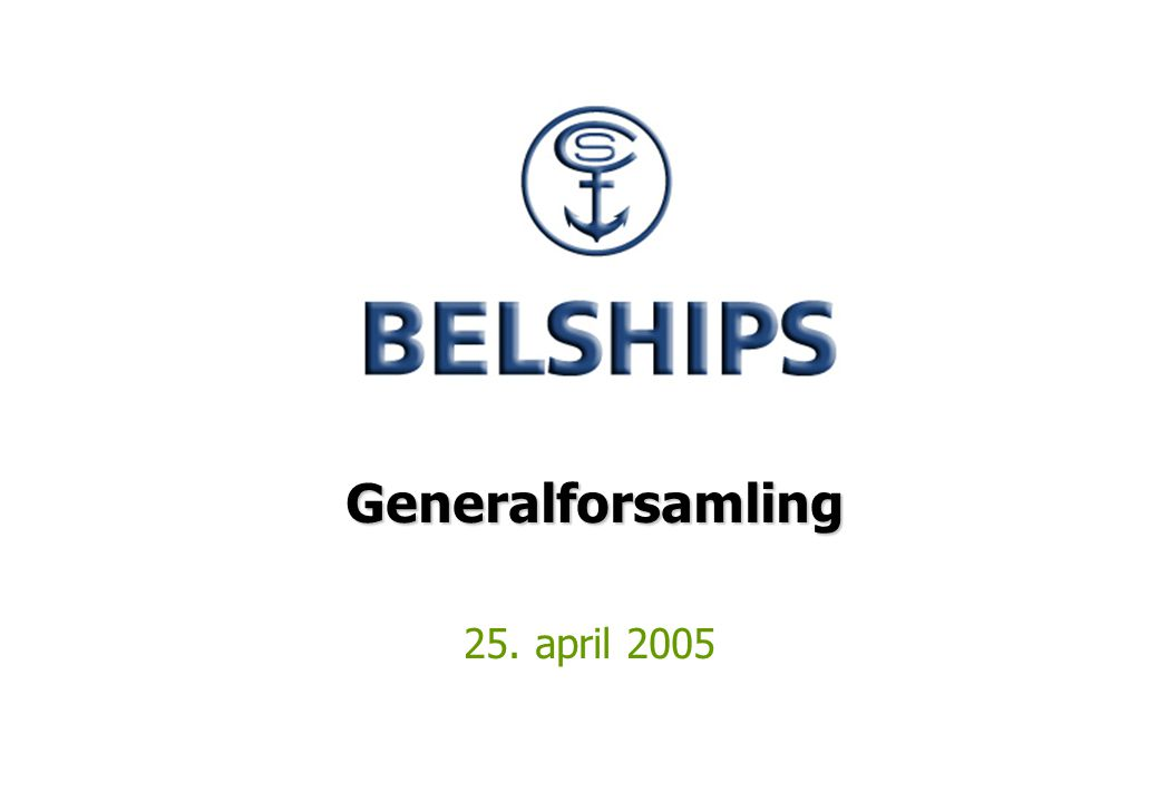 Generalforsamling 25. april 2005