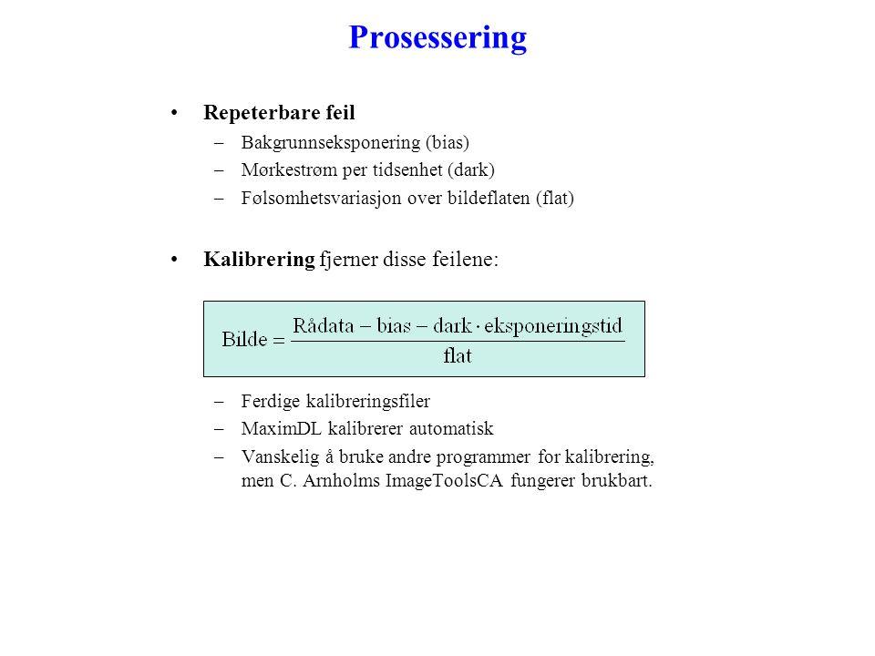 Overeksponering •Overeksponering medfører klipping eller blooming .