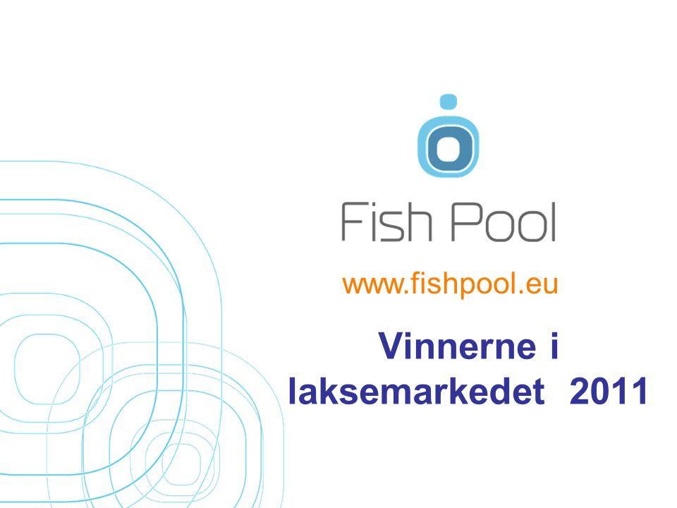 Vinnerne i laksemarkedet 2011 www.fishpool.eu