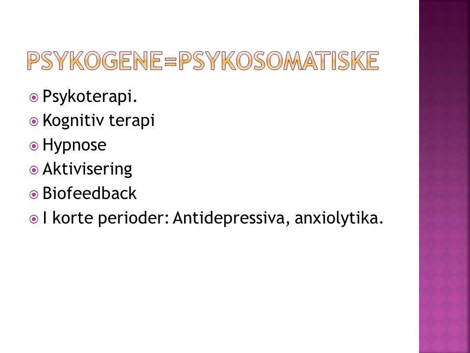  Psykoterapi.