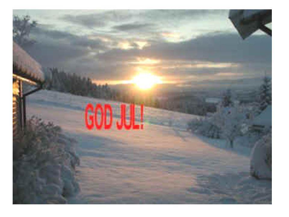 JULA SOM HØYTID •I førkristen/hedensk tid festperiode i midtvintersmånedene desember, januar.