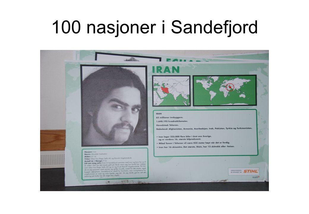 100 nasjoner i Sandefjord