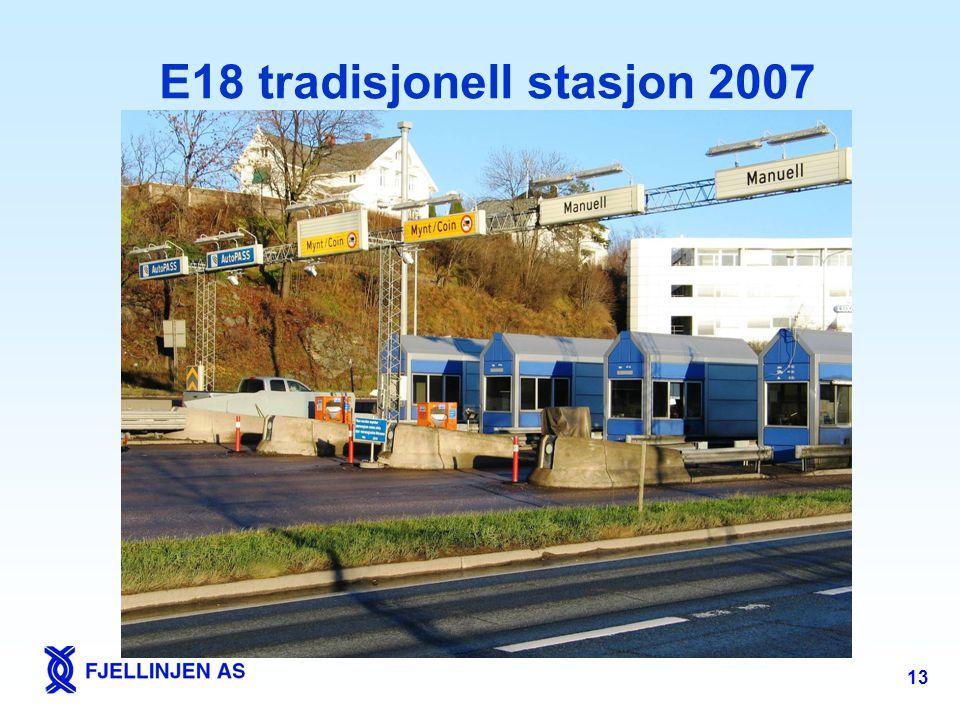 13 E18 tradisjonell stasjon 2007