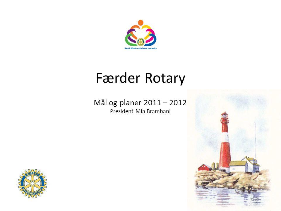 Rotary International 2011-12 Theme Reach Within to Embrace Humanity President Kalyan Banerjee Fritt oversatt: Vis verden et åpent sinn og by på deg selv