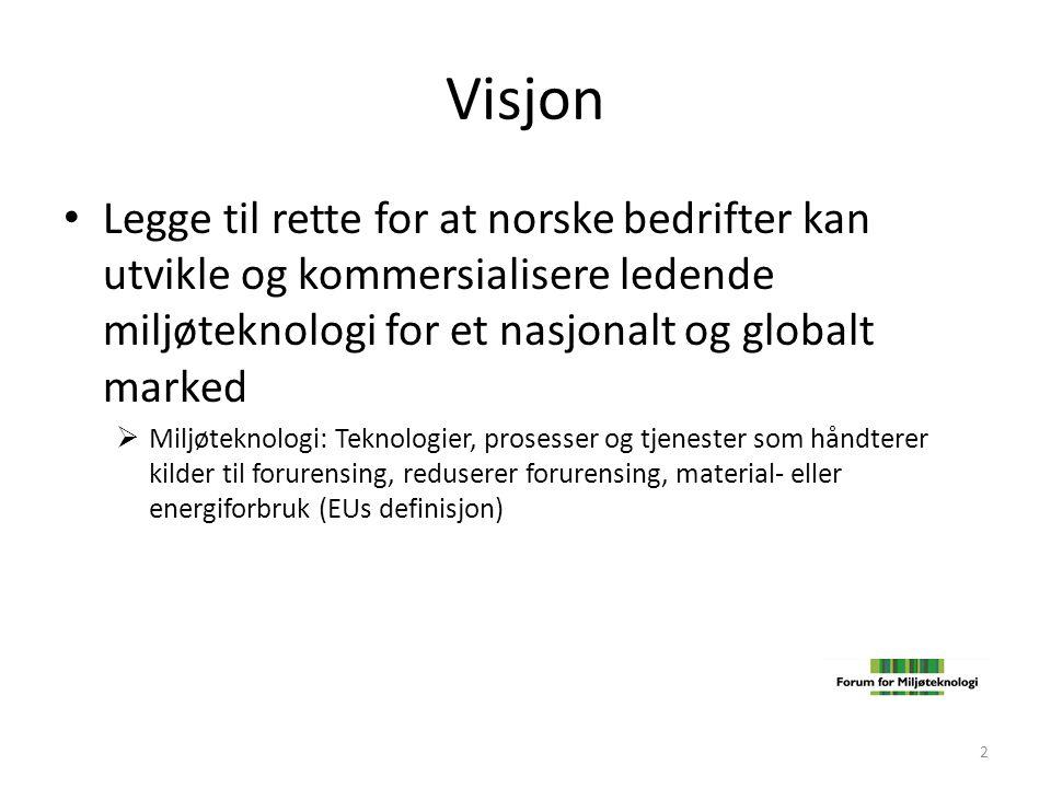 Hovedoppgave • Bidra til internasjonalt konkurransedyktige vilkår for bedrifter som investerer i miljøteknologi • Bidra å skaffe finansiering for prosjekter som bedriftene ikke klarer å finansiere på egen hånd 3