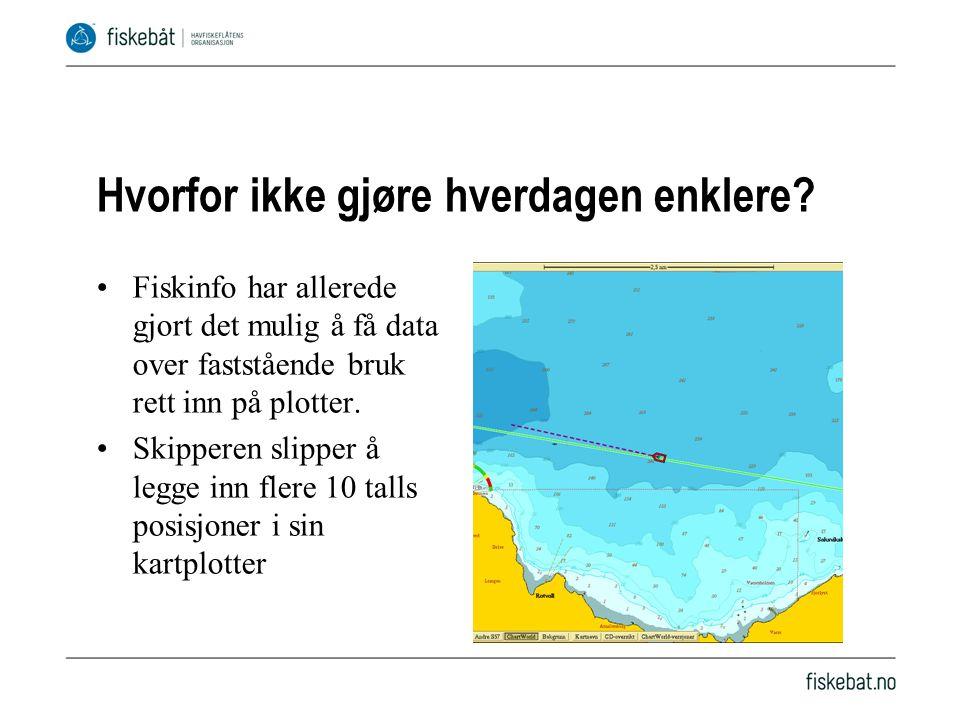 Fiskeridirektoratet lager ca.