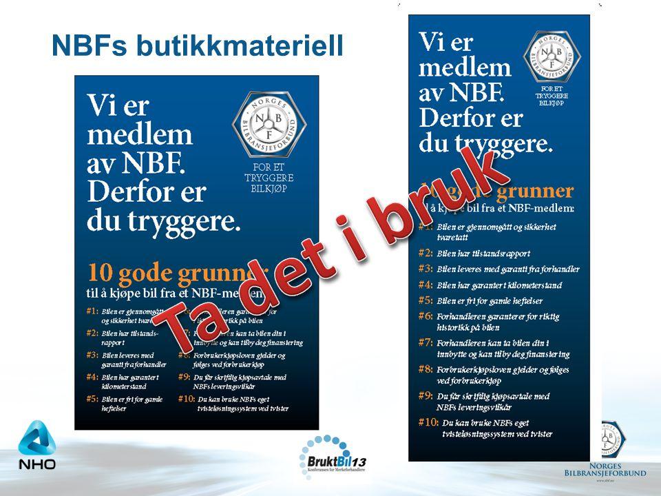NBFs butikkmateriell