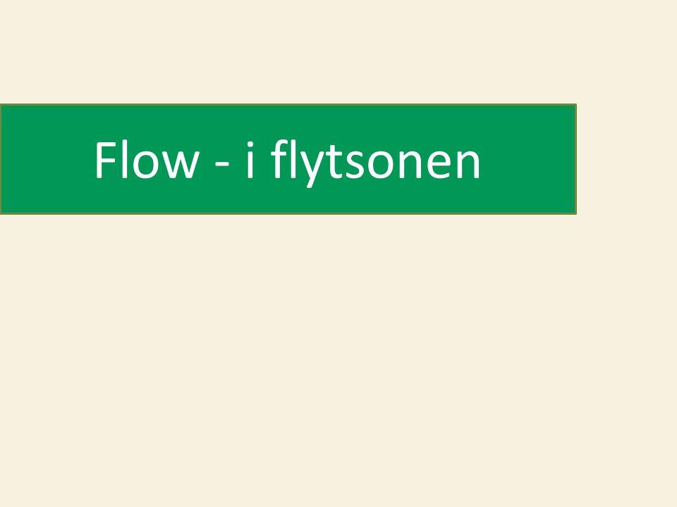 Flow - i flytsonen