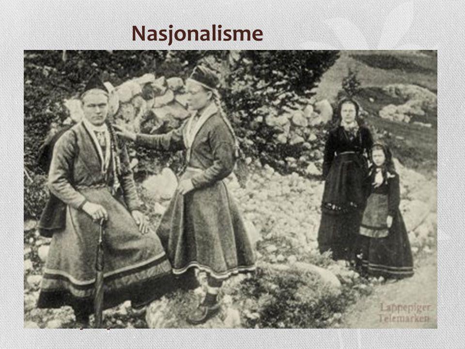 Demokratisering • I løp av 1800-tallet økte interessen for politikk i Norge • Både bønder og arbeidsklassen involverte seg mer i den politiske debatten • Embetsmennene hadde meste politisk makt etter unionsoppløsningen og holdt på den danske kulturen • Mange embetsmenn ønsket likevel å modernisere landet og bidro til utvikling og demokrati