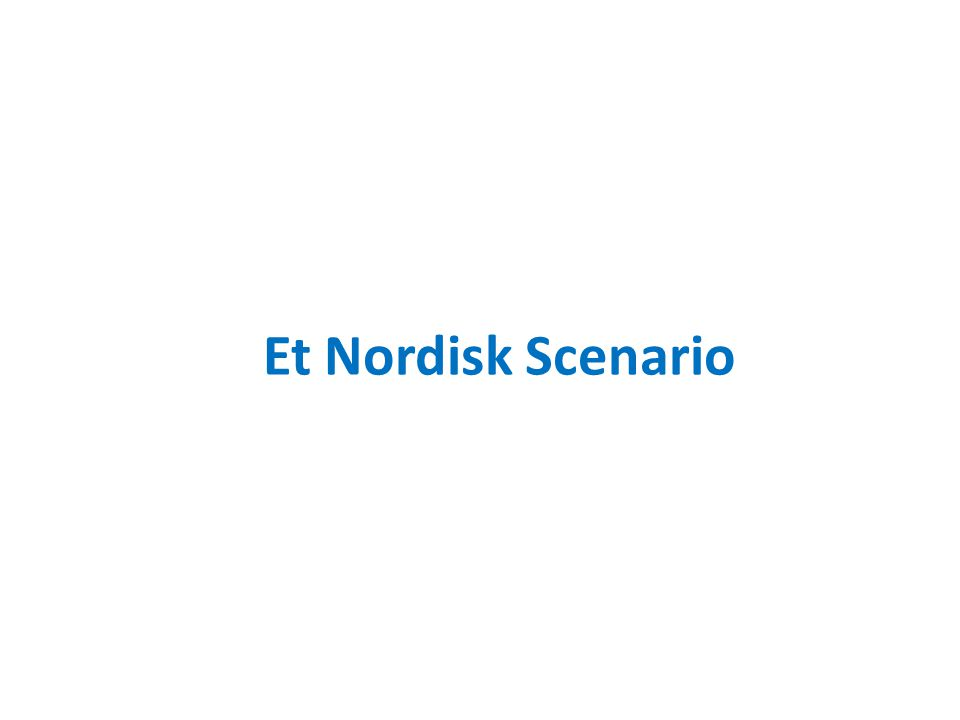 Et Nordisk Scenario