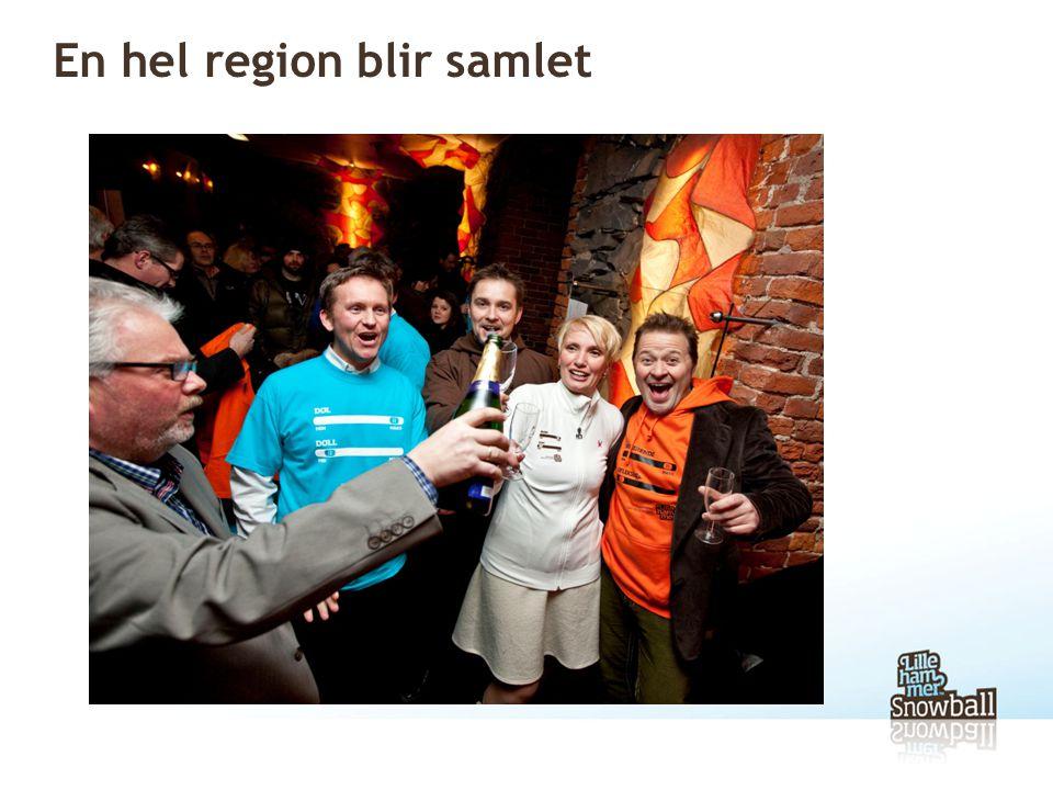 En hel region blir samlet