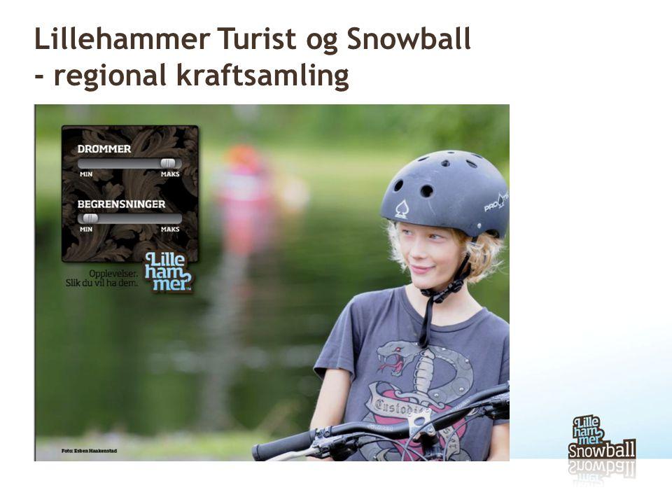 Lillehammer Turist og Snowball - regional kraftsamling