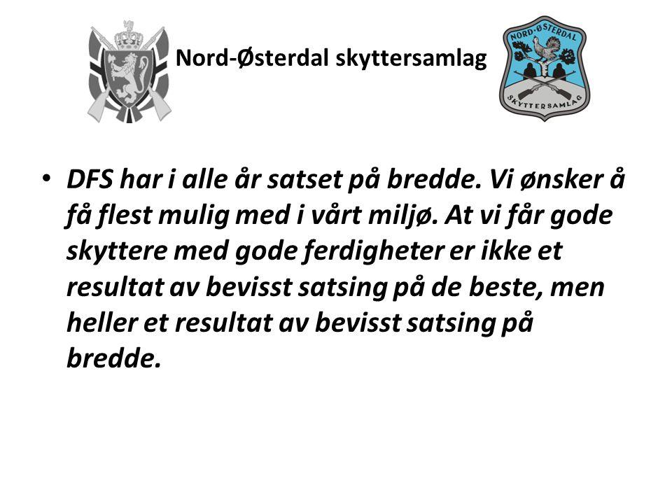Nord-Østerdal skyttersamlag • Det er de lokale skytterlagene som aktivt rekrutterer nye skyttere og har kontakt med lokalmiljøet.