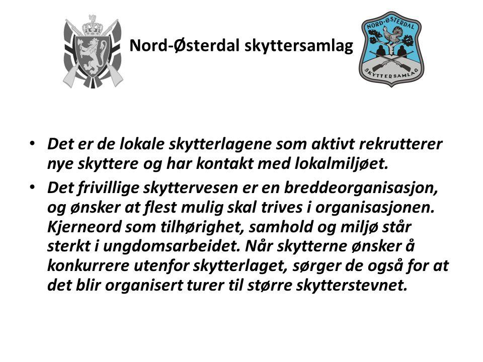 Nord-Østerdal skyttersamlag LAGENE • Skyteskole i alle lag – minst hvert 3.