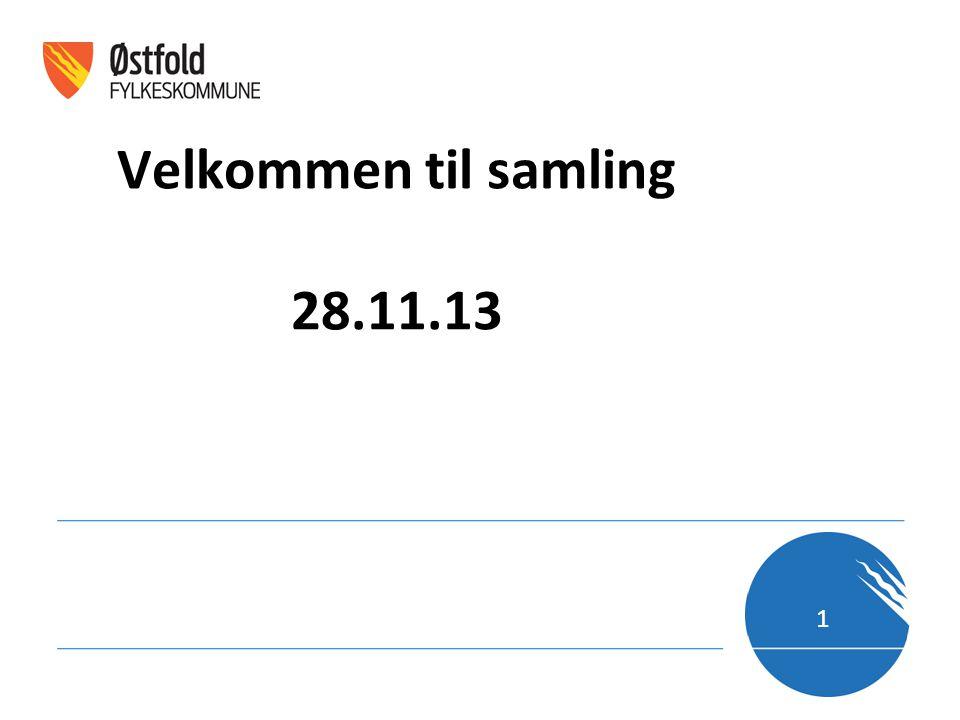 Velkommen til samling 28.11.13 1