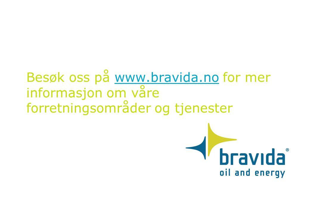 Besøk oss på www.bravida.no for mer informasjon om våre forretningsområder og tjenesterwww.bravida.no