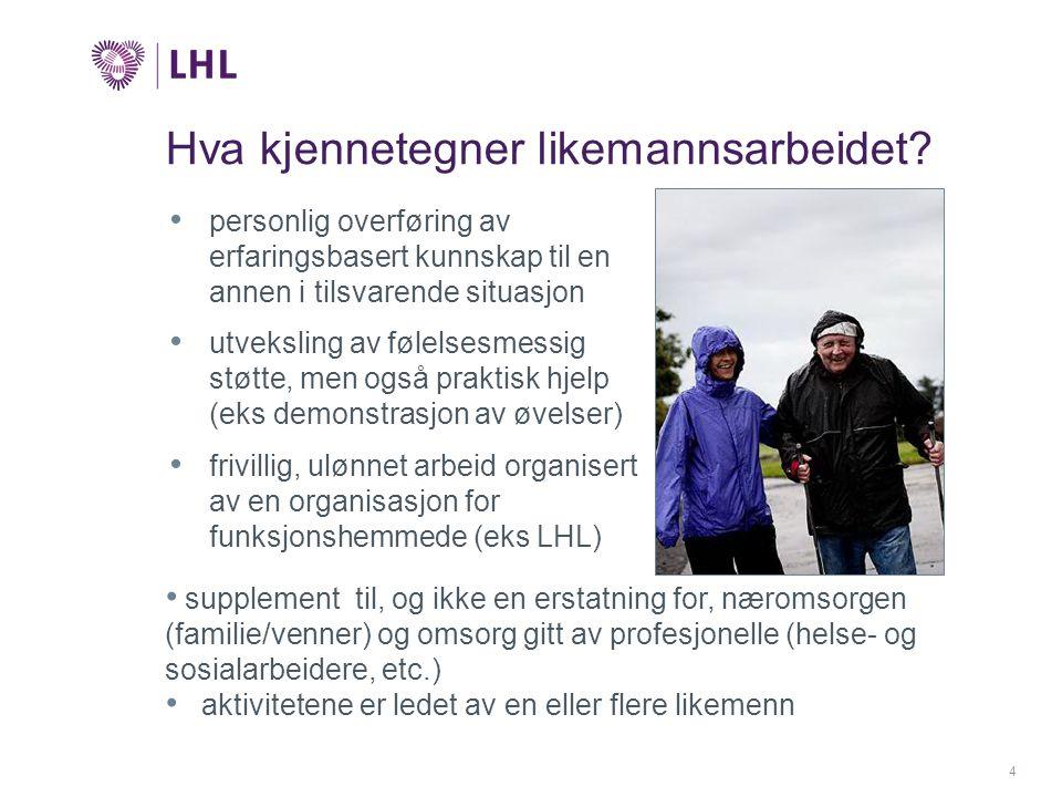 5 Hvorfor skal LHL drive likemannsarbeid.
