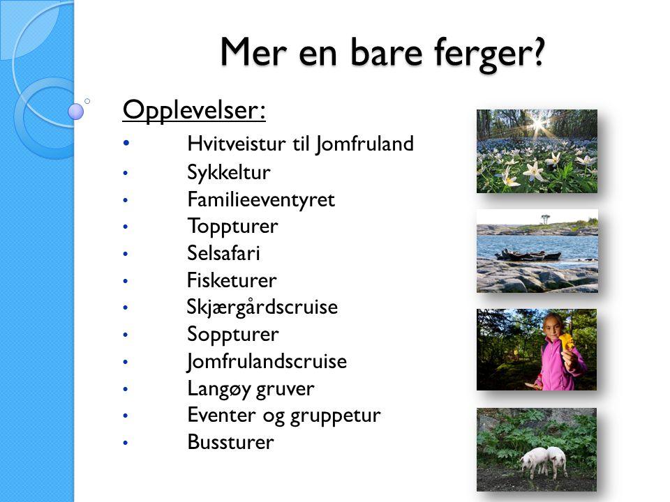 Kragerø Fjordbåtselskap AS 2006 20072008200920102011 Eventer 0 2356362024 Turbuss 0 235071813