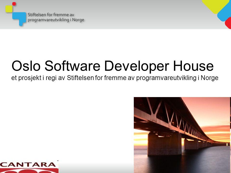 Oslo Software Developer House et prosjekt i regi av Stiftelsen for fremme av programvareutvikling i Norge