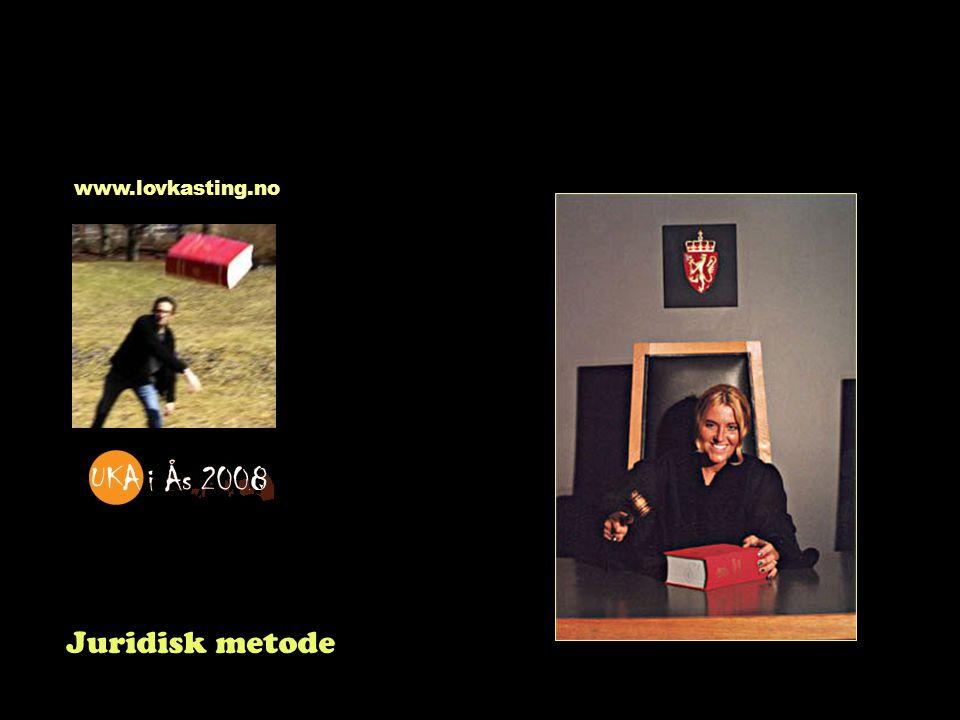 Juridisk metode www.lovkasting.no