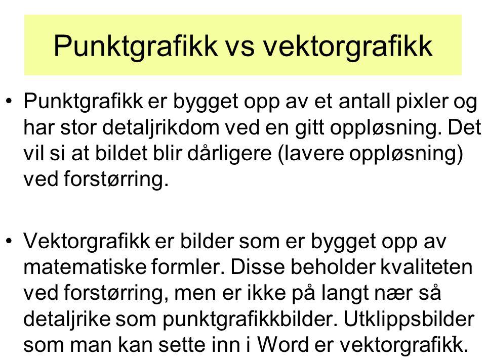 18 Merking •Øvingsbilder: –Svensktopper