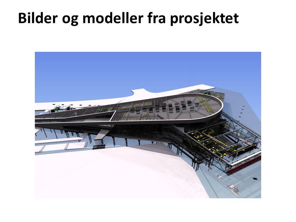 Bilder og modeller fra prosjektet