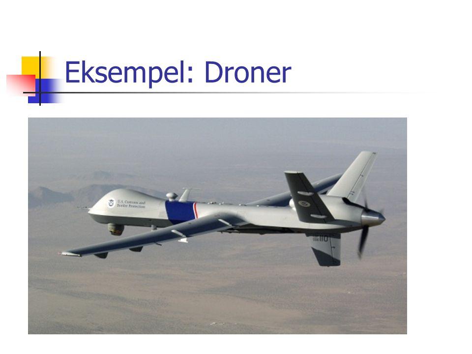 Eksempel: Droner