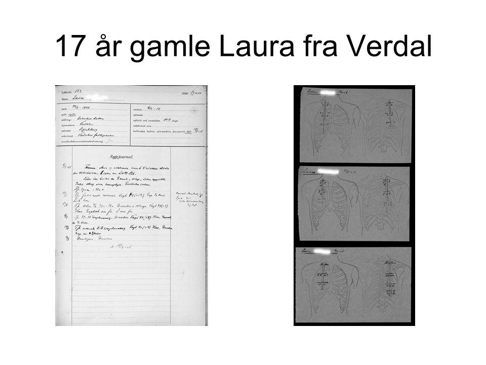 17 år gamle Laura fra Verdal