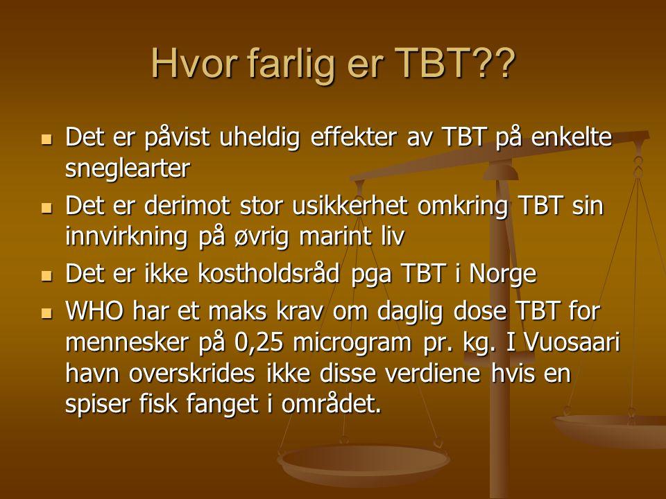 Hvor farlig er TBT?.