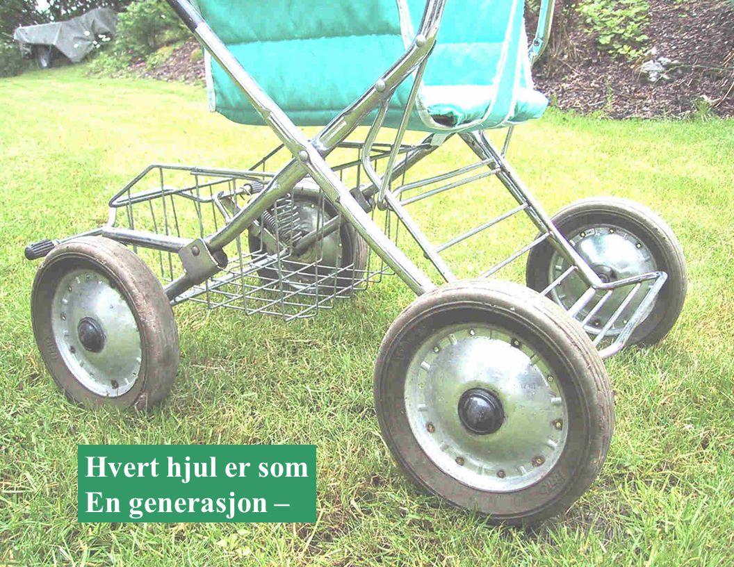 Hvert hjul er som En generasjon –