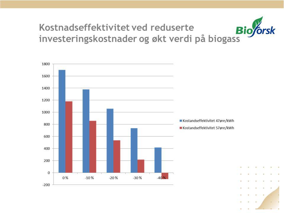 FoU-aktiviteter - Biogass Biogass potensialstudier, Forbehandling av substrater Flere av forsøkene utføres som grunnleggende forskning om forbehandling av tungt nedbrytbare substrater, f.eks.