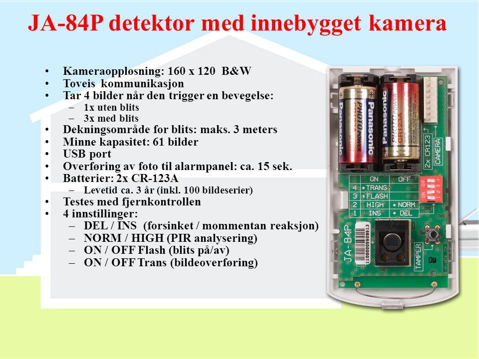 USB connector JA-84P detektor med innebygget kamera Direkte nedlasting til PC